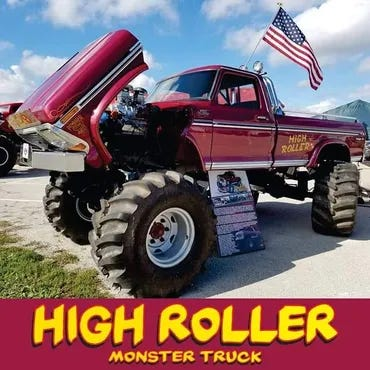 Come out and see the High Roller at the Chrome and Lights Truck and Motorcycle Show this weekend.