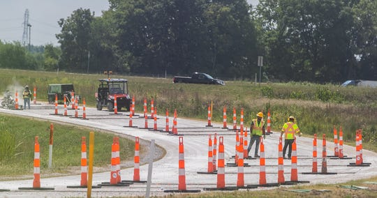 Motorists should be alert for lane restrictions and ramp closures this weekend in Marion County.