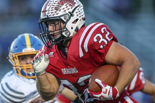 New Palestine's Charlie Spegal is the odds on favorite to win IndyStar Mr. Football this season.