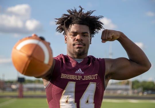 Jay Higgins is a one-man wrecking crew for Brebeuf Jesuit.