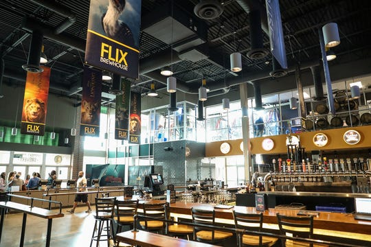 Flix Brewhouse movie theater in Carmel on Monday, Aug. 12, 2019.