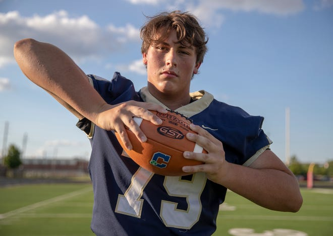 Tex Elliott, a 6-foot-5, 295-pound offensive lineman at Cathedral High School in Indianapolis, said he'll join Colorado State's football program as a walk-on this summer. Elliott earned all-state honors last fall from the Associated Press and Indiana Football Coaches Association.