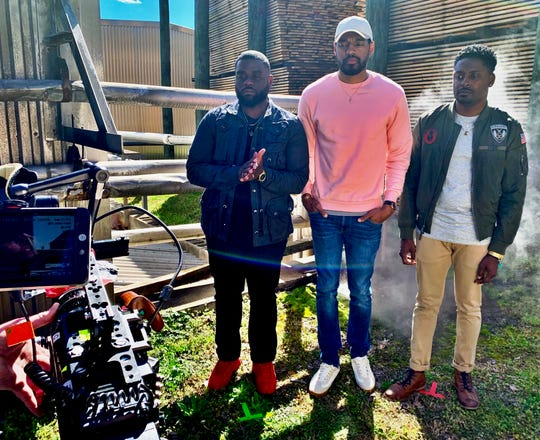 """Travel Channel's """"Ghost Brothers: Haunted Houseguests"""" spotlights a McMinnville, Tenn., home. The show stars Marcus Harvey, Juwan Mass and Dalen Spratt."""