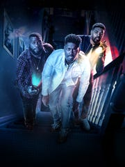 """Travel Channel's """"Ghost Brothers: Haunted Houseguests"""" stars Marcus Harvey, Dalen Spratt and Juwan Mass."""