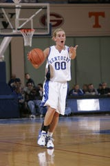Carly Ormerod was named KentuckyÕs Miss Basketball in 2005 after averaging 16.1 points per game and was the MVP of the state tournament as a freshman (2002) and junior (2004) after helping the Valkyries win state championships. She finished her career with 1,798 points, 629 rebounds, 534 assists and 367 steals. She went on to play at the University of Kentucky, where she started 89 of 106 games and averaged 8.1 points, 3.2 rebounds and 2.96 assists per game over her career. She was inducted into the Kentucky High School Basketball Hall of Fame in 2016.