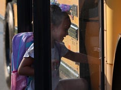 JCPS' first day of school for 2019-20 had nearly 100,000 students, 910 buses