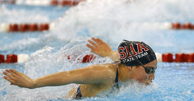 Asia Seidt won 14 state swimming championships while at Sacred Heart, including four straight in the 100-yard backstroke (2013-16). Included were eight victories on relay teams. She still holds state-record times in the 200 individual medley (1:56.83) and 100 backstroke (52.89 seconds) and was a member of two relay teams (200 medley, 400 free) that still hold state records. She was the Most Outstanding Competitor at the 2014 state meet. Seidt is set to begin her senior year at the University of Kentucky, where she has earned eight first-team All-American honors.