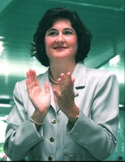 Mary T. Meagher was a five-time state champion at Sacred Heart (1981-82) and went on to become one of the worldÕs most recognizable swimmers, winning three gold medals in the 1984 Summer Olympics. Her world-record times in the 100- and 200-meter butterfly events Ð set in 1981 Ð both stood for nearly two decades. She was a member of the first class to be inducted into the Kentucky High School Athletic Association Hall of Fame in 1998.