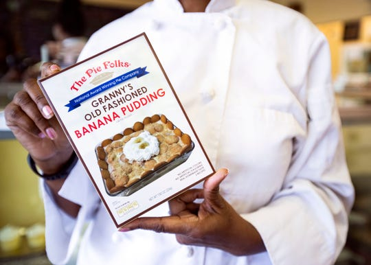 The Pie Folks'  filling made into a dry mixes can be found in the produce departments of Memphis-area Kroger and Superlo grocery stores.