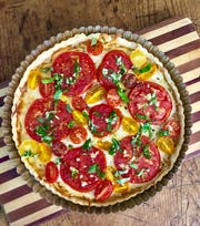 Ripe and flavorful summer tomatoes are the star of this Tomato Tart.