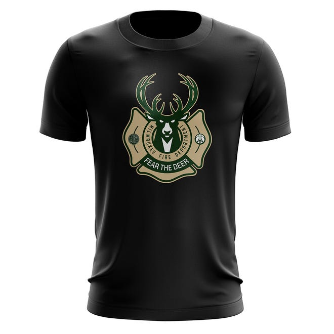 The Bucks and MFD will be releasing a co-branded T-shirt Aug. 15.