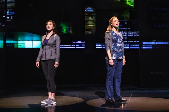 "Claire Rankin and Jessica Sherman perform in the nationally touring company of ""Dear Evan Hansen."" They will perform in September at Milwaukee's Marcus Center."