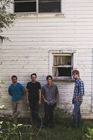 Rock group Patient Eyes will perform in downtown Yellville on Saturday night..