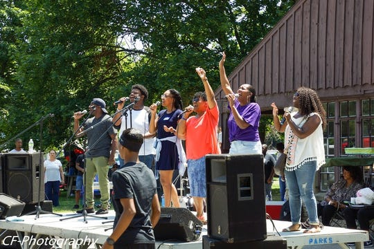 The Muncie Homecoming Festival 2019, held July 29-Aug. 4, included Praise at the Park.