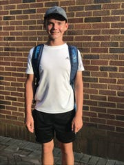 Burris' Charles Behrman is about to start his high school tennis career right at the top, at No. 1 singles.