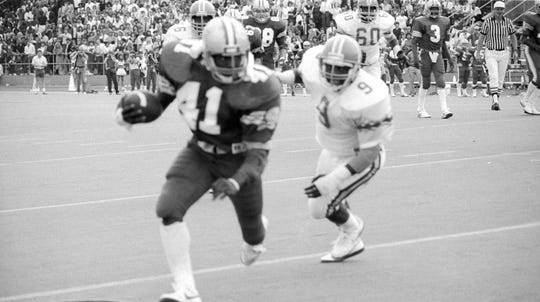 Former MTSU fullback Tony Burse enters the 2019 Blue Raider Hall of Fame class.