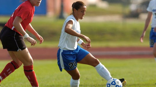 Former MTSU soccer player Laura Miguez is one of seven members being inducted into the Blue Raider Hall of Fame class for 2019.