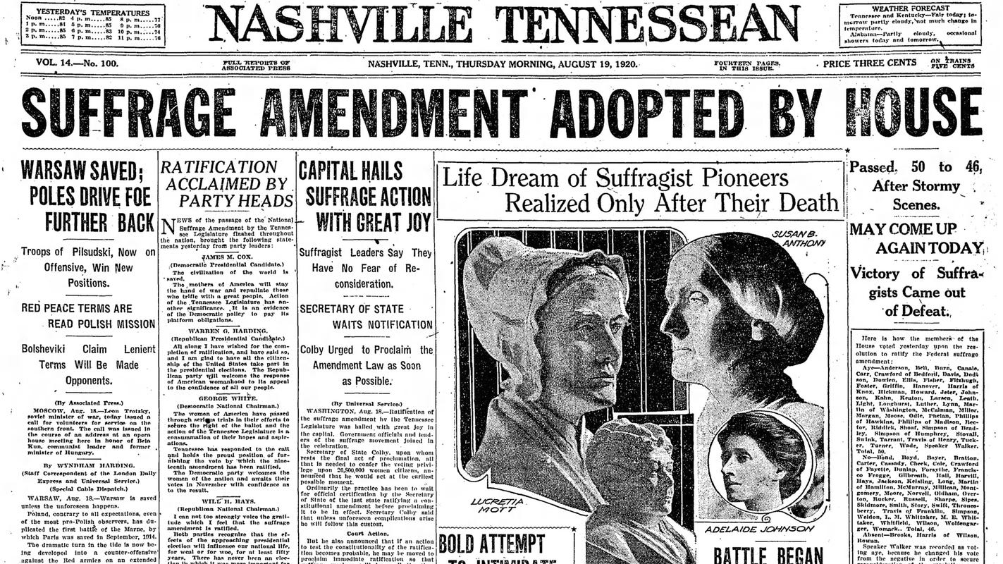 Remember the women who fought for and won the right to vote | Opinion