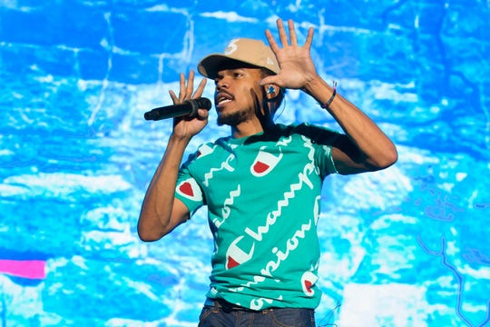 Chance the Rapper will perform at 7 p.m. Thursday, Oct. 17 at Bridgestone Arena. Tickets on sale today, Aug. 2.  AFP/Getty Images AFP/Getty Images Chance the Rapper performs in concert on the second day of week two of the Austin City Limits Music Festival at Zilker Park on October 14, 2017 in Austin, Texas.
