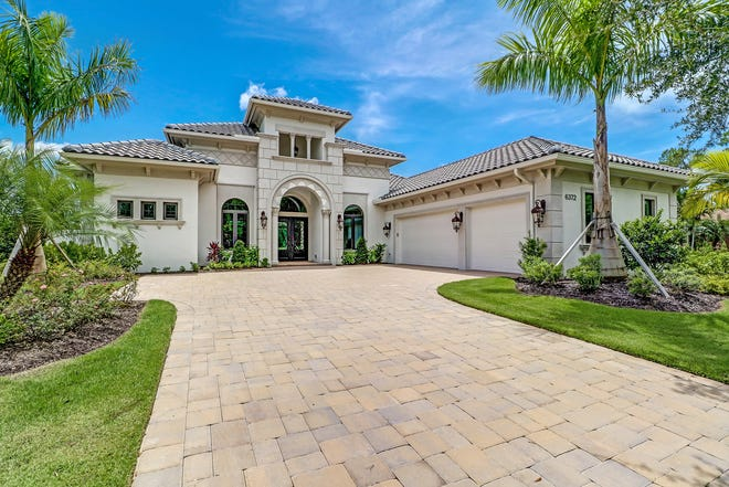 The unfurnished Muirfield V, with a golf course view, is priced at only $1,474,990.