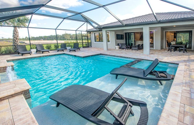 The community of Ave Maria reported 32 new home sales for the month of July.