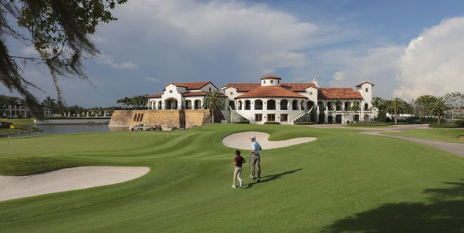 Talis Park offers a championship Greg Norman Dye golf course and a state of the art practice facility.