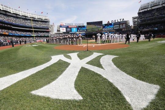 Yankee Stadium on Opening Day.