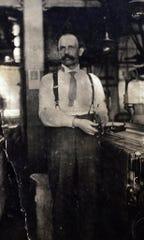 """""""""""Alexander Zukowski, a skilled weaver from Poland, worked in the North Jersey silk mills"""