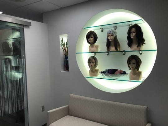 The salon offers wigs for people who may lose their hair due to chronic illness.