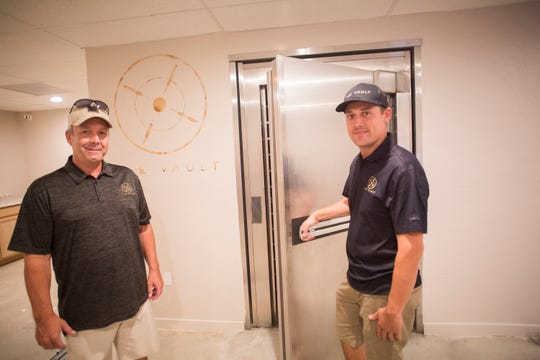 "Rich Eaton and Shaun Szameit opened up a unique dispensary in Cathedral City catering to higher end customers. The dispensary named ""The Vault Dispensary Lounge"" was named after the bank vault still in the building."