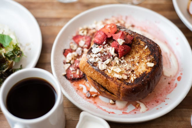 A French toast dish from Prep and Pastry. The Tucson brunch spot is opening a location in Scottsdale this fall.