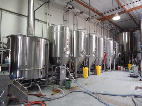 Huss started off with just four tanks that are still used in the original production room.