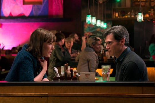 "Bernadette (Cate Blanchett) and Elgie (Billy Crudup) are wife and husband in ""Where'd You Go, Bernadette."""
