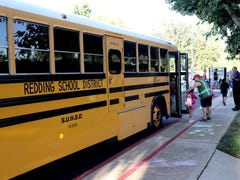 Redding mom wants school district to put air conditioning on buses after girls come home 'soaked'
