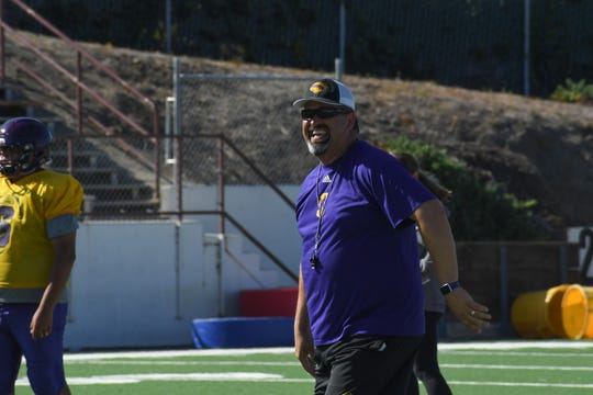 Salinas coach Steven Zenk has been at the helm of the Cowboys' program since 2017.