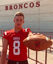Brock Aschenbeck, LB, Sonora, 6-1, 190, Sr. — Aschenbeck recorded 80 tackles last year, and he figures to be an even bigger part of the Broncos' defense in 2019. He could also see an expanded role as a running back, where he rushed for 308 yards last year.