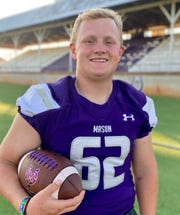 Slone Stultz, DL, Mason, 5-10, 225, Sr. — Stultz is a dominant lineman on either side of the ball. He was the Defensive MVP of the Class 2A Division I state final with 1.5 sacks, 3.5 tackles for loss, a forced fumble and a blocked kick. He finished the year with 88 tackles (15 for loss) and five sacks. As an offensive lineman, he graded out at 92 percent with no sacks allowed.