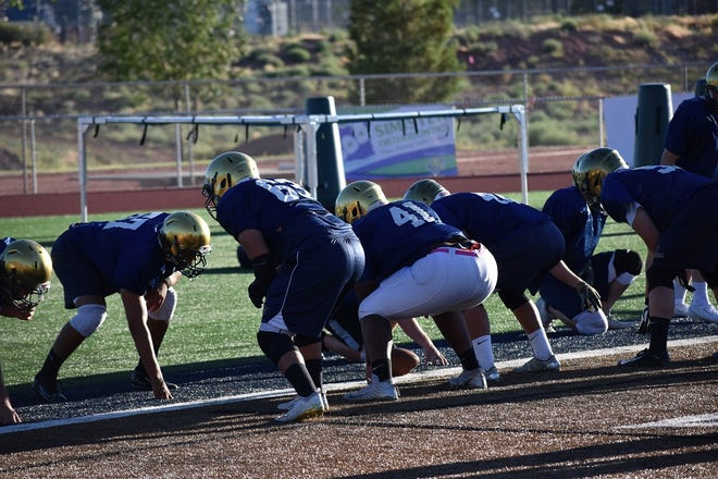 Snow Canyon's offensive and defensive lines are the team's strength in 2020.