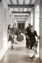 Accoustic group Passerine plays at 8 p.m. Saturday at Blue Tavern.