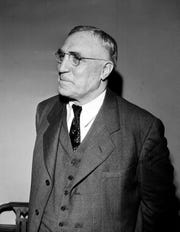 William T. Piper, who started Piper Aircraft Corporation in 1936, is shown in New York on March 16, 1945.