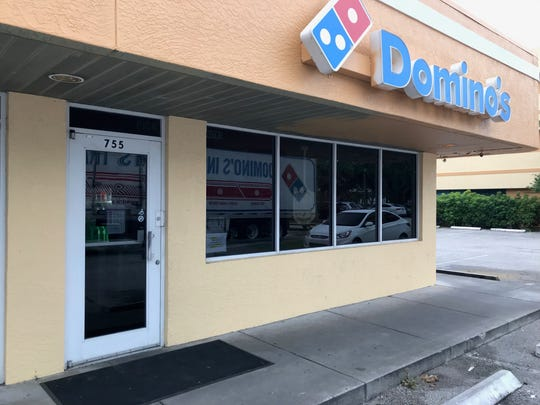 Domino's at 755 8th Street in Vero Beach was the target of an armed robbery Wednesday at 12:30 a.m., sheriff's officials said. The store is pictured here later that morning, August 14, 2019.