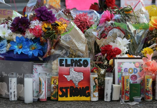 El Pasoans continue to mourn and visit the makeshift memorial outside the Walmart near Cielo Vista Mall.