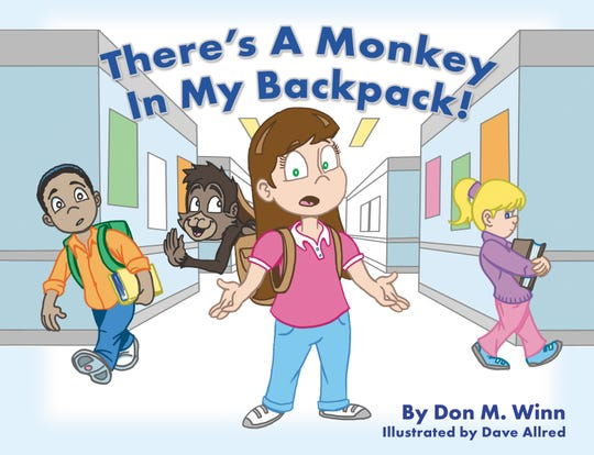 ÒThereÕs a Monkey in My Backpack!Ó by Don M. Winn, illustrated by Dave Allred