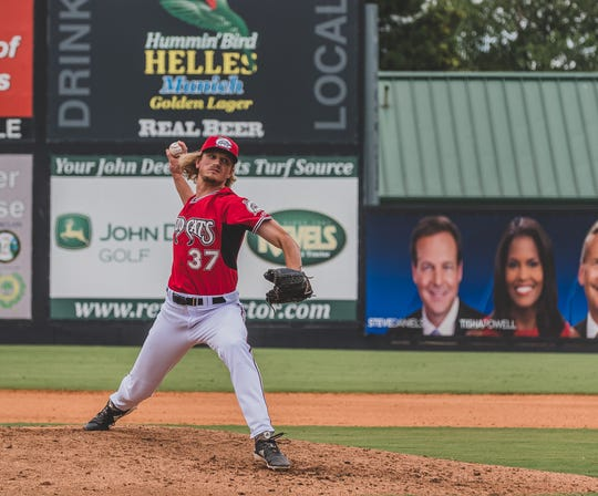 Phil Bickford extended his scoreless streak with the Triple-A Carolina Mudcats this week to 16.1 innings.