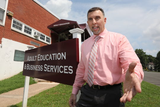 Christopher D'Ambrese, executive director of adult and continuing education for Rockland BOCES in Nyack Aug. 14, 2019. They received a $500,000 state grant to reach young adults in Spring Valley who are not in school or working and get them back on a path to finishing their education and finding a career.