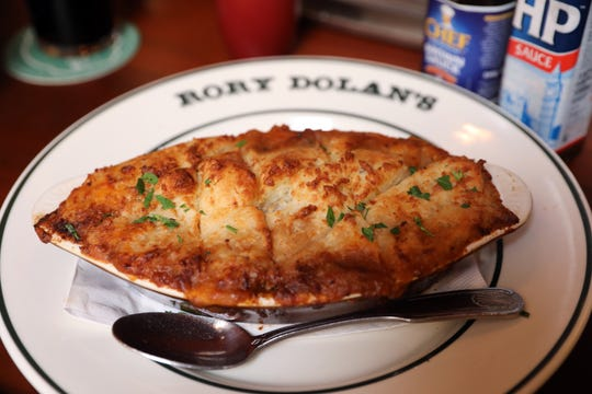 Shepherd's pie at Rory Dolan's Restaurant & Bar in Yonkers Aug. 12, 2019.