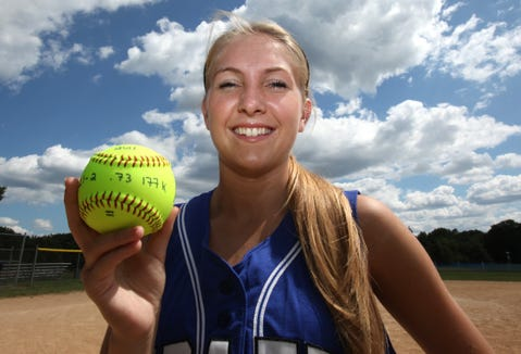 Pearl River senior Katie O'Flynn is the Journal News Rockland softball player of the year. July 1, 2011.