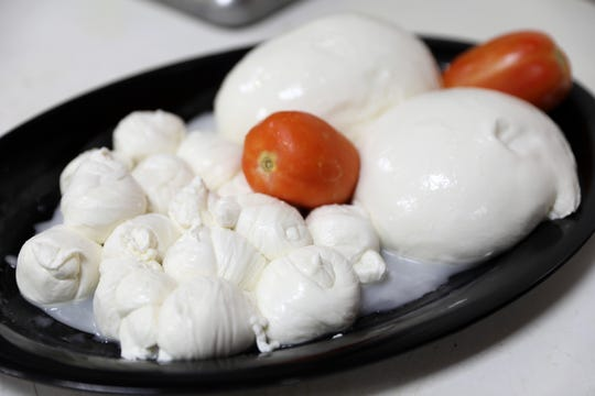 Fresh mozzarella at Avitabile Deli in Yonkers Aug. 12, 2019.