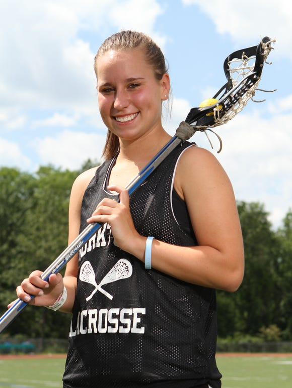 Yorktown's Lindsay Scott was our Westchester/Putnam girls lacrosse player of the year in 2011.
