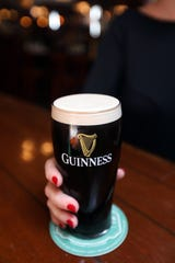A pint of Guinness at Rory Dolan's Restaurant & Bar in Yonkers Aug. 12, 2019.